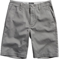 FOX RACING YOUTH ESSEX SHORT [GUNMETAL]