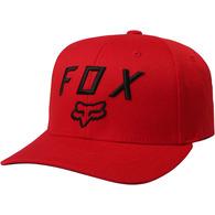 FOX RACING YOUTH LEGACY MOTH 110 SNAPBACK [DARK RED]