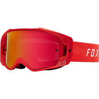 FOX RACING VUE GOGGLES [RED] NS