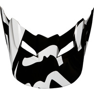 FOX RACING MX18 V1 HELMET VISOR RACE [BLACK]
