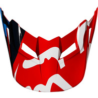 FOX RACING MX18 V1 HELMET VISOR RACE [RED]