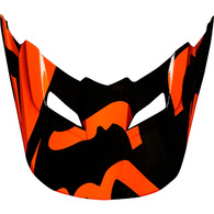 FOX RACING MX18 V1 HELMET VISOR RACE [ORANGE]