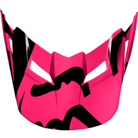 FOX RACING MX18 V1 HELMET VISOR RACE [PINK]