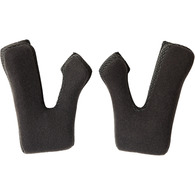 SHIFT MX18 WHIT3 HELMET CHEEK PADS [BLACK]