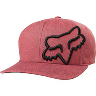 FOX YOUTH CLOUDED FLEXFIT HAT [CARDINAL]