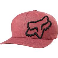 FOX RACING YOUTH CLOUDED FLEXFIT HAT [CARDINAL]