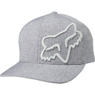 FOX RACING CLOUDED FLEXFIT HAT [LIGHT GREY]