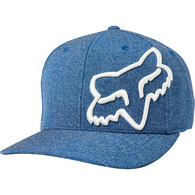 FOX RACING CLOUDED FLEXFIT HAT [ROYAL BLUE]