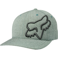 FOX RACING CLOUDED FLEXFIT HAT [EUCALYPTUS]