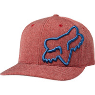 FOX RACING CLOUDED FLEXFIT HAT [CHILI]