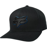 FOX RACING EPICYCLE FLEXFIT HAT [BLACK/ROYAL]