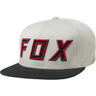 FOX RACING POSESSED SNAPBACK HAT [LIGHT GREY]