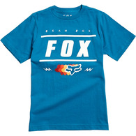 FOX YOUTH TEAM 74 SS TEE [DUSTY BLUE]