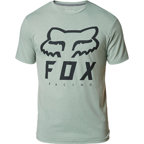 FOX RACING HERITAGE FORGER SS TECH TEE [EUCALYPTUS]