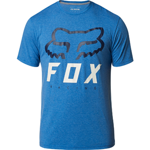 FOX RACING HERITAGE FORGER SS TECH TEE [HEATHER ROYAL]