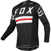 FOX FLEXAIR PREEST LE JERSEY [BLACK/RED]