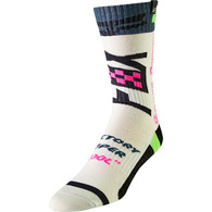 FOX RACING YOUTH MX SOCK - CZAR [LIGHT GREY]