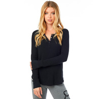 FOX RACING WOMENS GORMAN LS THERMAL [BLACK]
