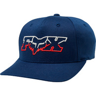 FOX YOUTH DUELHEAD FLEXFIT HAT [NAVY]