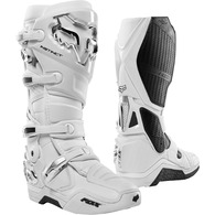 FOX RACING INSTINCT BOOTS [WHITE/SILVER]