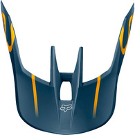 FOX RACING MX19 V3 HELMET VISOR - KILA [NAVY/YELLOW]