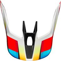 FOX RACING MX19 V3 HELMET VISOR - MOTIF [RED/YELLOW]