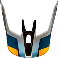 FOX RACING MX19 V3 HELMET VISOR - MOTIF [BLUE/SILVER]