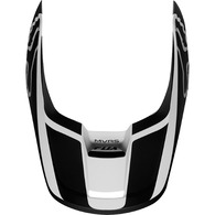 FOX RACING MX19 V1 HELMET VISOR - PRZM [BLACK/WHITE]