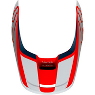 FOX RACING MX19 V1 HELMET VISOR - PRZM [NAVY/RED]