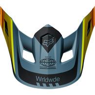 FOX RACING MX19 V2 HELMET VISOR - MURC [BLUE STEEL]