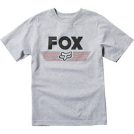 FOX YOUTH AVIATOR SS TEE [LIGHT HEATHER GREY]