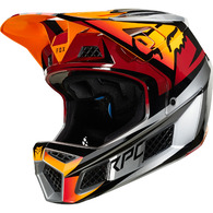 FOX RACING RAMPAGE PRO CARBON HELMET BEAST [ICED]