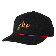 FOX RACING WOMENS PITCREW TRUCKER HAT [BLACK]