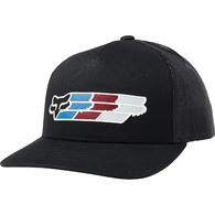 FOX YOUTH SUPER HEAD SNAPBACK HAT [BLACK]