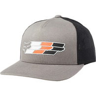 FOX YOUTH SUPER HEAD SNAPBACK HAT [PEWTER]