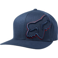 FOX RACING EPISCOPE FLEXFIT HAT [MIDNIGHT]