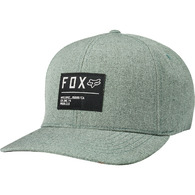 FOX RACING NON STOP FLEXFIT HAT [EUCALYPTUS]