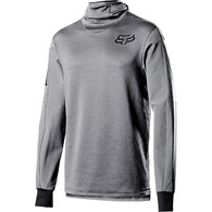 FOX RACING DEFEND THERMO HOODED JERSEY [STEEL GREY]