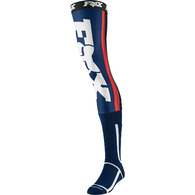 FOX RACING 2020 LINC KNEE BRACE SOCK [NAVY/RED]