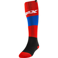 FOX RACING WOMENS SOCK - LINC [BLUE/RED]