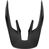 FOX RACING 2019 V3 HELMET VISOR - SOLIDS [MATTE BLACK]