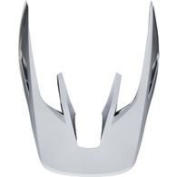 FOX RACING 2019 V3 HELMET VISOR - SOLIDS [WHITE/SILVER]