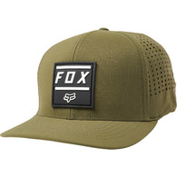 FOX RACING LISTLESS FLEXFIT HAT [OLIVE GREEN]