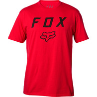 FOX RACING LEGACY MOTH SS TEE [DARK RED]