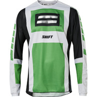 SHIFT 2020 WHIT3 LABEL ARCHIVAL JERSEY SE [GREEN/BLACK]