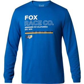 FOX RACING ANALOG LS TECH TEE [ROYAL BLUE]