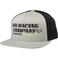 FOX RACING PIT STOP SNAPBACK HAT [GREY]