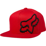 FOX RACING HEADERSNAPBACK HAT [CHILI]