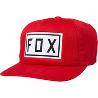FOX RACING DRIVE TRAIN SNAPBACK HAT [CHILI]