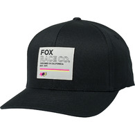 FOX RACING ANALOG FLEXFIT HAT [BLACK]